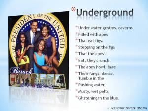 CHILDREN'S POETRY POWER HOUR - Obama's childhood poem