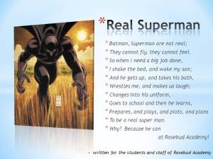 CHILDREN'S POETRY POWER HOUR - Real Superman