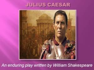 CHILDREN'S WORD WAR WON SHOW - JULIUS CAESAR